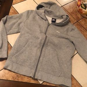 Nike zip up hoodie youth large